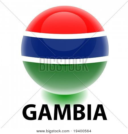 Orb Gambia Flag