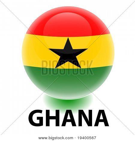 Orb Ghana Flag