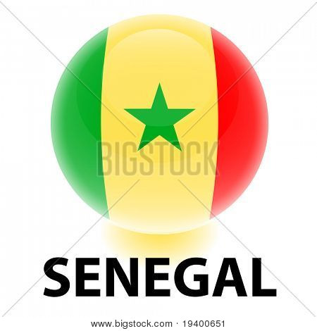 Orb Senegal Flag