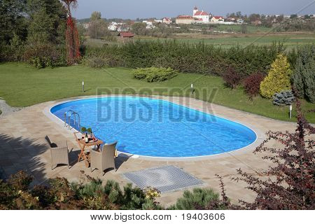 Pool in the garden