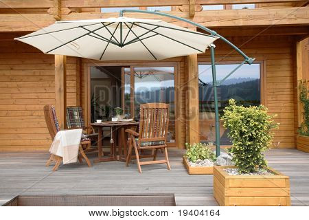 Wooden Patio