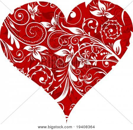 Valentines Day background, vector illustration