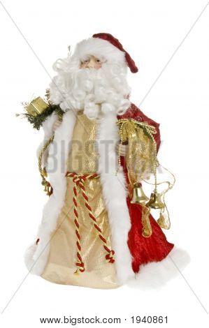 Santa Facing Left