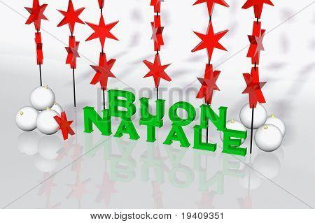 Italian christmas card -