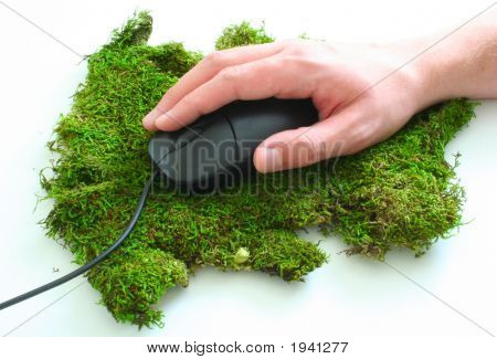 Mossy Mouse Pad 3
