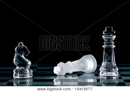 Strategic games; chess; victory during end game