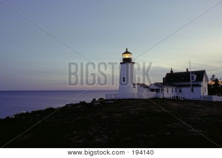 Pnobscot Lighthouse