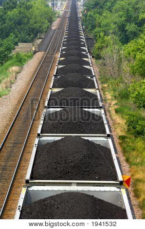 Tren de carbón