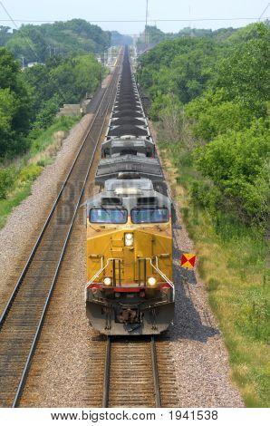 Coal Train Locomotive