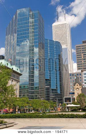 City Toronto, Blue Buildings