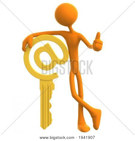 E-Mail Security Golden Ampersat Key