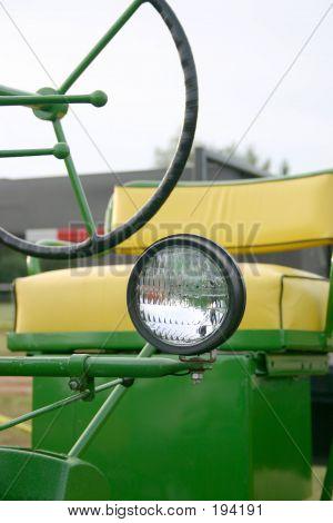 Farm Tractor Seat