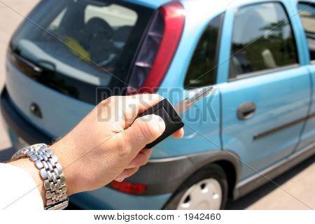 Manija de la llave del coche electrónico