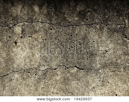 Grunge wall texture with cracks