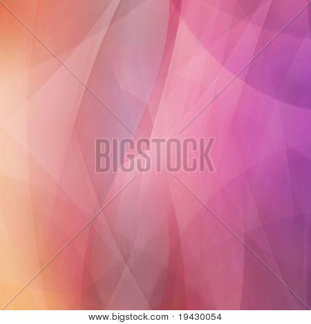 Orange pink gradated presentation background
