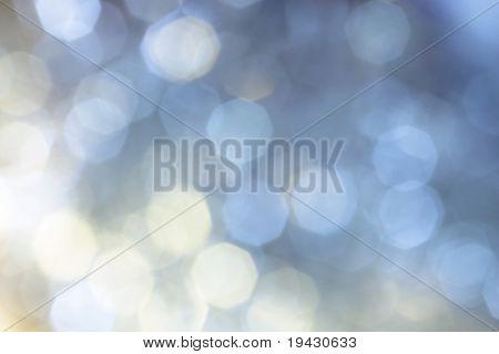 iluminación de Navidad blanco azul desactivar el fondo focus