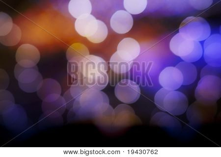 holiday season off focus bokeh background