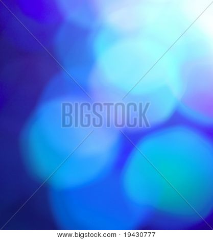 Blue off focus background
