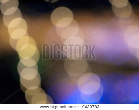 Holiday season off focus soft background