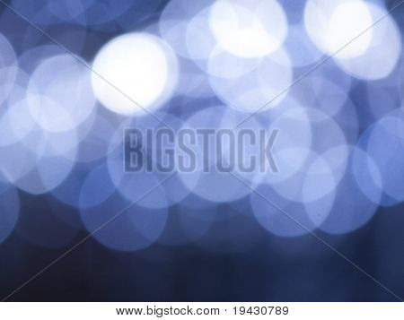 Holiday season illumination off focus background