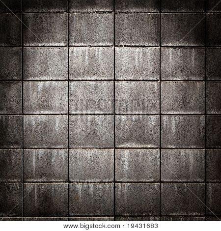 grungy concrete brick wall