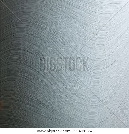 Swirly brushed metal texture