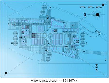 blueprints vector technical draw