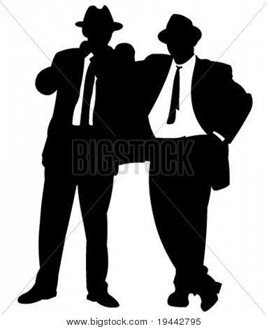 Businessmen in Black