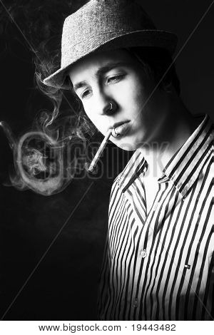 Smoking guy