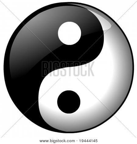 Ying or Yang vector file