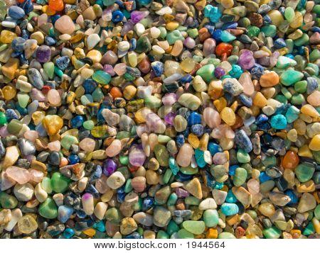 Semi-Precious Stones Background