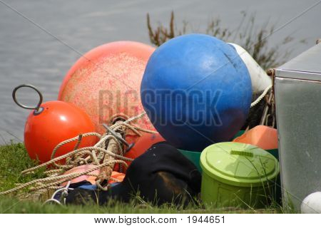 Buoys And Bucket