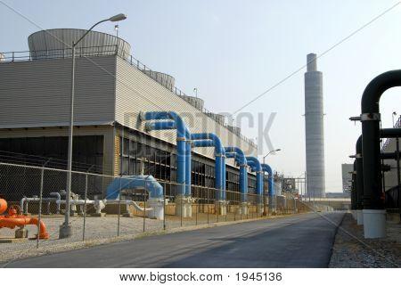 Power Plant Scrubber