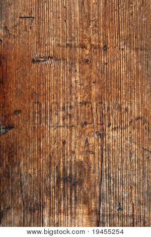 Verwitterte Holz Wand