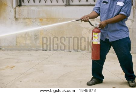 Fire Extinguishing Practice