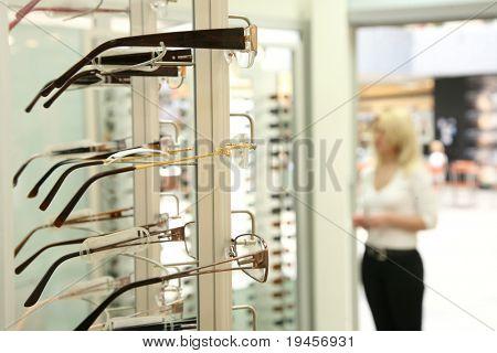 Eye glasses shop