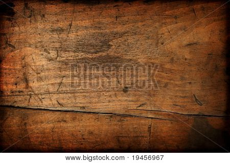 Textura de madeira vintage escura