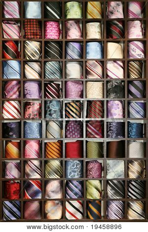 Neck ties collection