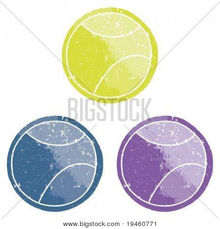Tennis Balls Vector