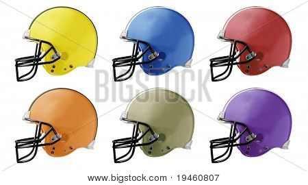 Football Helmets