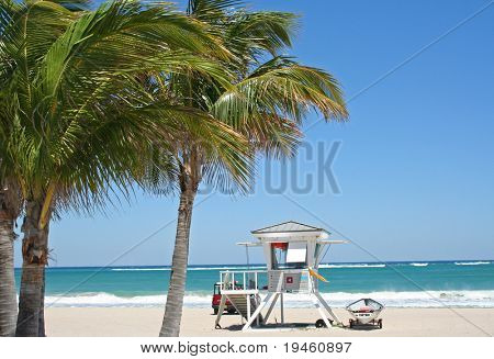 Beach Lifeguard tower