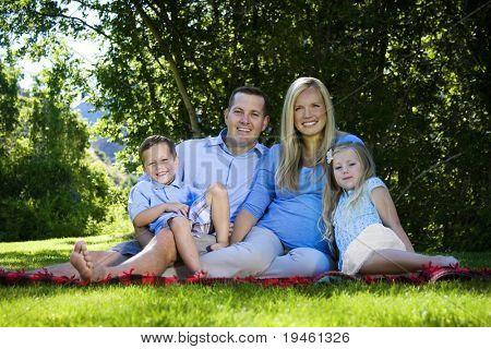 Attractive Family Portrait