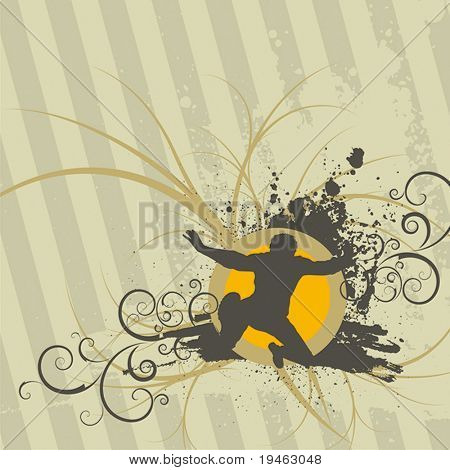 Retro Scroll design vector