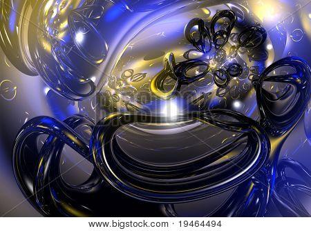 Blue&Gold Toruses 03