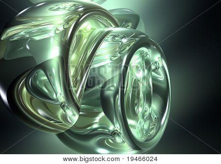 green liyuid dream