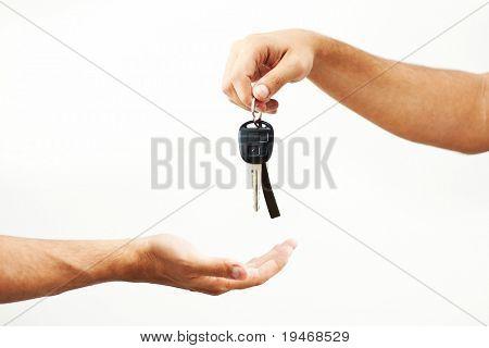 Auto-Schlüsselaustausch