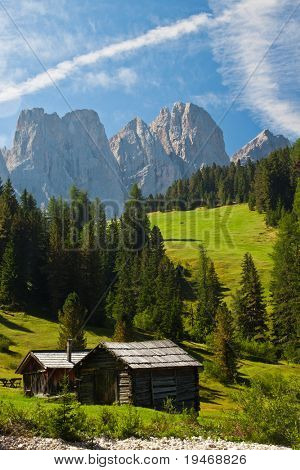 Beautiful Dolomites landscape