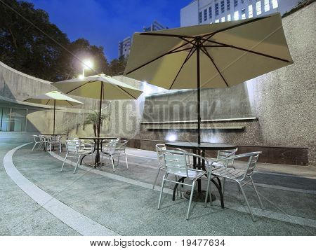 Outdoor restaurant