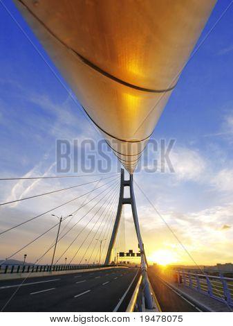 Rope of drawbridge