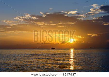 Sunrise, Atlantik-Küste, fl, usa